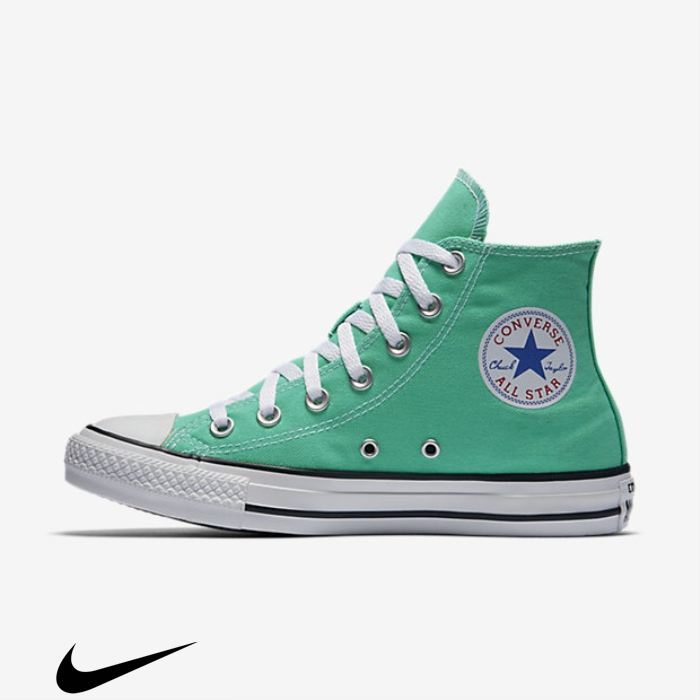 Converse Chuck Conscious Taylor All Star Seasonal Shoes Mint Top High Colors CEGHIKOW39