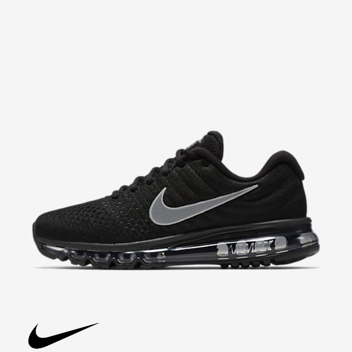 Nike Air 2017 Running Shoes Intelligent Max Black/Anthracite/White HIJPQSTVY7
