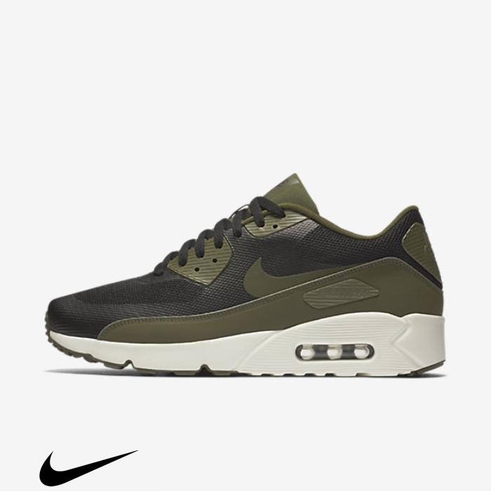 Nike Air Max 90 Ultra Deserving Essential Black/Sail/Legion Shoes Green 20 BEHMPT2689