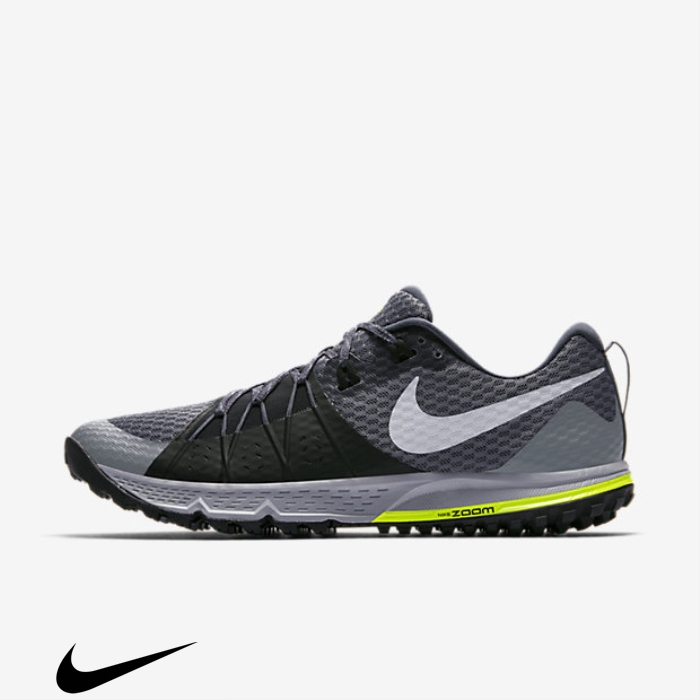 Nike Air Zoom Wildhorse Structural 4 Dark Shoes Running Grey Grey/Black/Stealth/Wolf BEOW123459