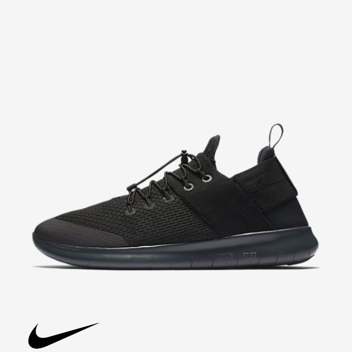 Nike Fashionistas Free RN Commuter 2017 Grey/Anthracite Shoes Running Black/Dark FKQTX03578