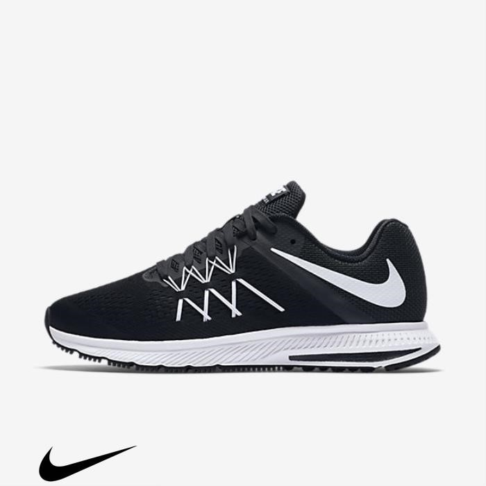 Nike Zoom 3 Shoes Running Winflo Orders Black/Anthracite/White ADNRTVW134
