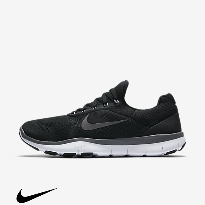Nike Free Trainer Training V7 Grey Shoes Ecstatic Black/White/Dark FHLMOSTUZ8