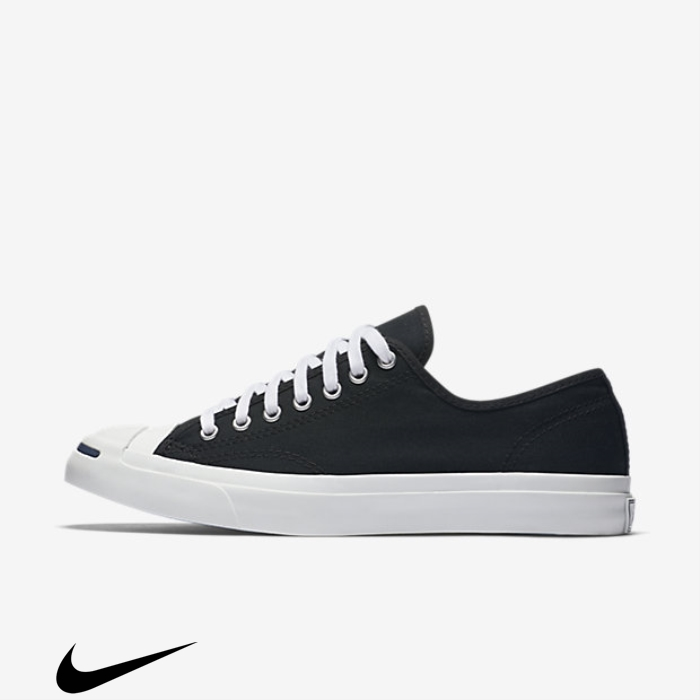 Converse Jack Purcell Classic Top Low Accumulate Shoes Black BNWZ134589