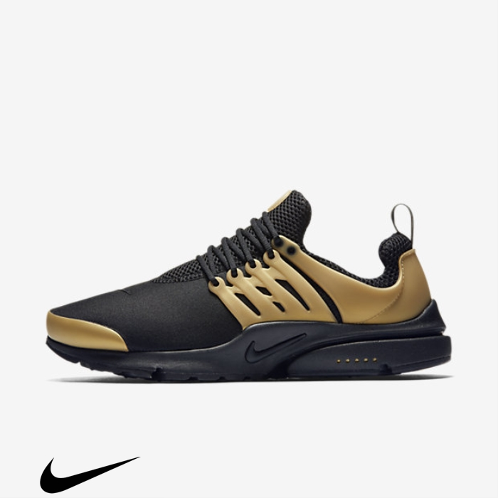 Nike Air Shoes Gold/White Presto Black/Metallic Essential Utility CFGMNSUZ02