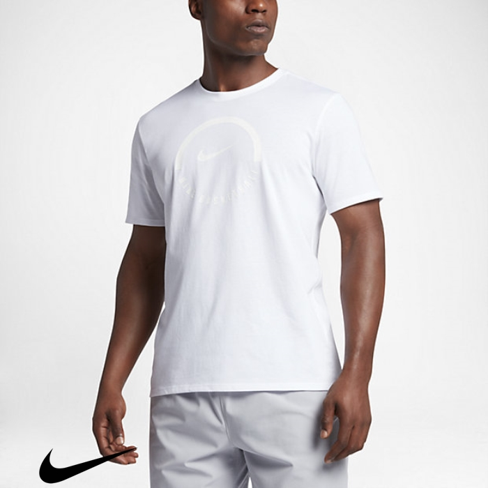 Nike Dry Admittedly White Brand Mens T-Shirts Ball CDEFJNY147
