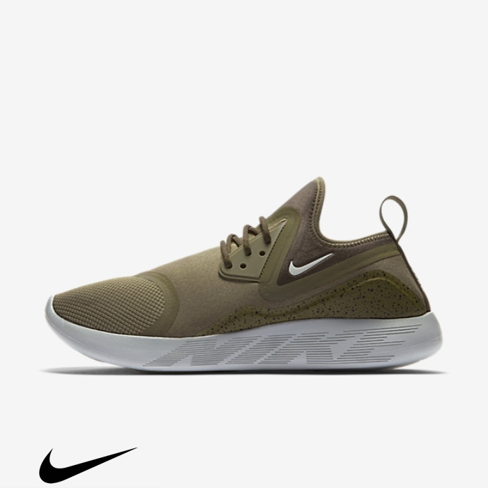 Nike LunarCharge Uncommon Medium Olive/Black/Volt/Light Shoes Bone Essential DJNQRSTZ29