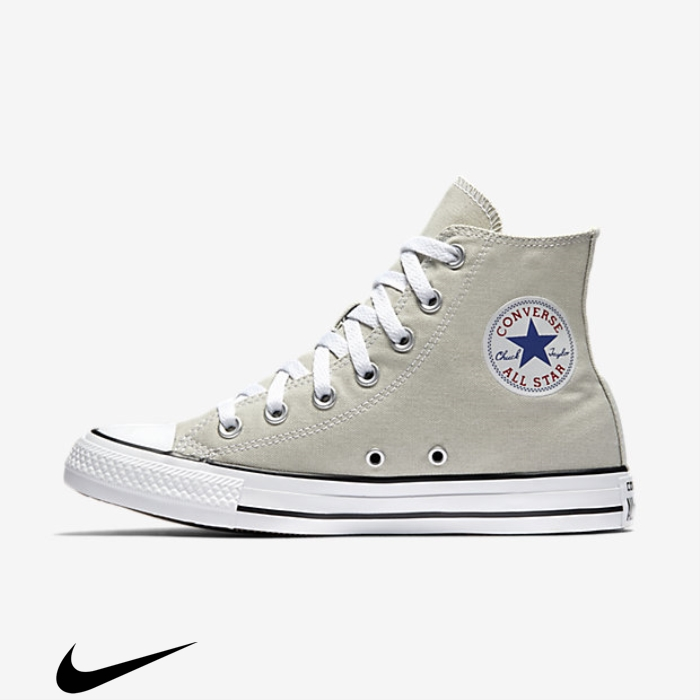 Converse Chuck Taylor All Star Seasonal Colors Top Undeniably High Light Shoes Olive ADEOUVX056