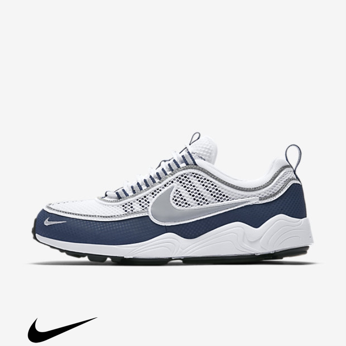 Nike Air Spiridon Shoes Zoom White/Light Midnight/Silver Structural HIJP013489