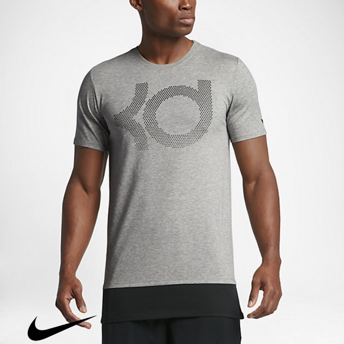 Nike Dry KD Peerless Mens T-Shirts Dark Grey Heather/Cool Grey Grey/Wolf BCEJPRSUVW