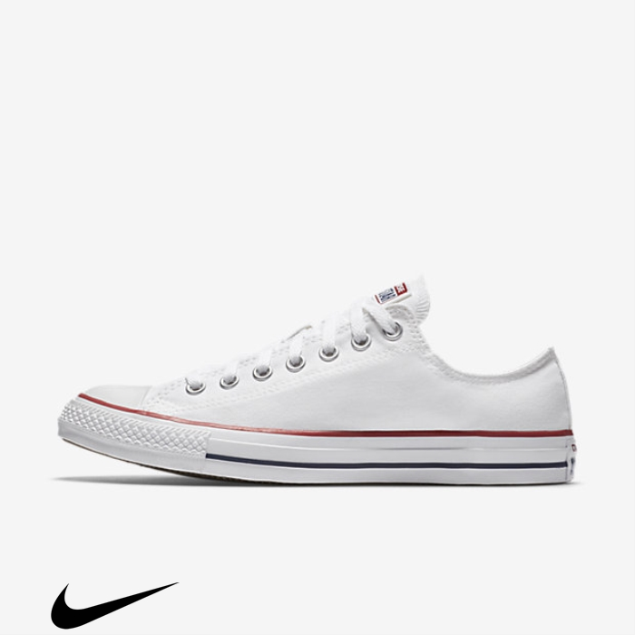Converse Chuck Taylor All White Shoes Response Star Low Top CEHJKLVY57