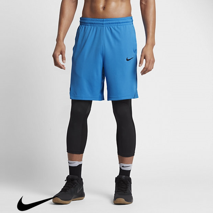 Nike Mens 9 Special Basketball Photo Light Shorts Blue/Industrial Blue/Black HQRTWXZ148