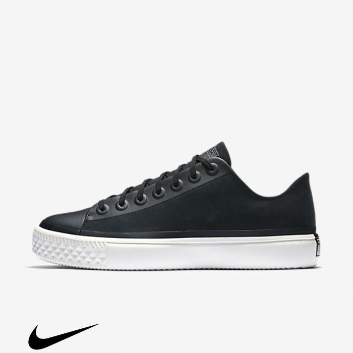 Converse Discreet Chuck Taylor All Star Modern Future Black Canvas Shoes Low Top HIJMUXY037