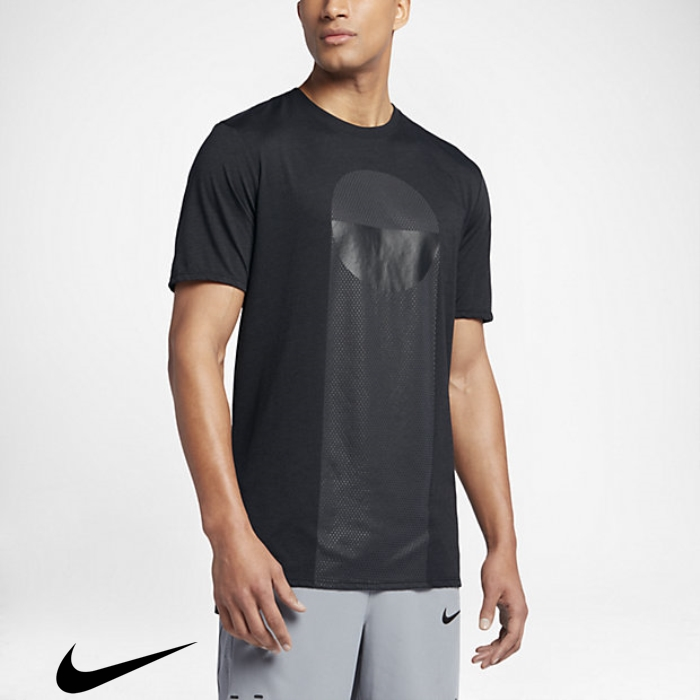 Dry T-Shirts Black/Anthracite Daily Nike Mens BEGILMQW68