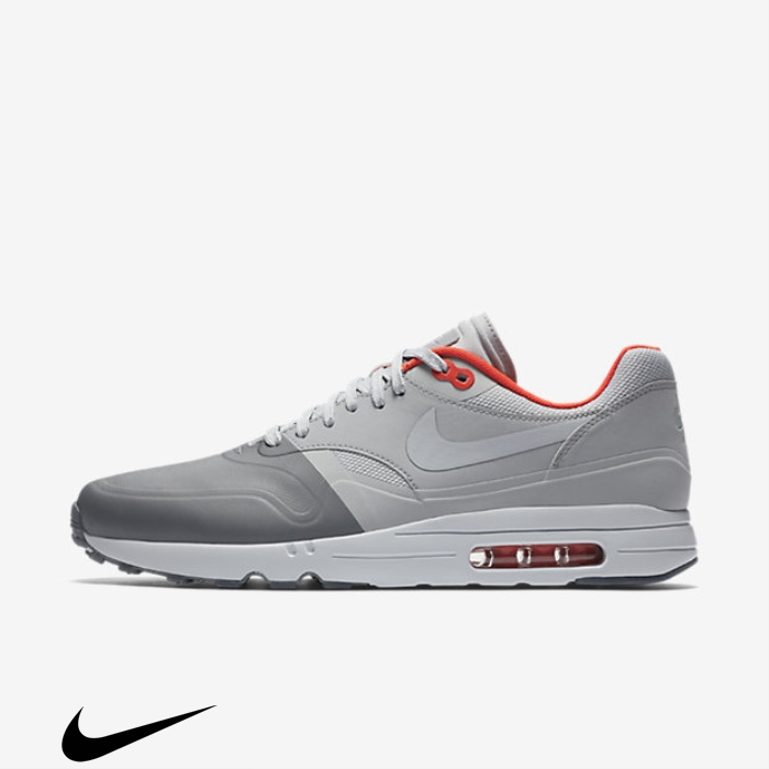 Nike Air Max 1 Ultra 20 SE Immortal Shoes Dark Grey/Wolf Grey/Bright Crimson AELOTUXY01