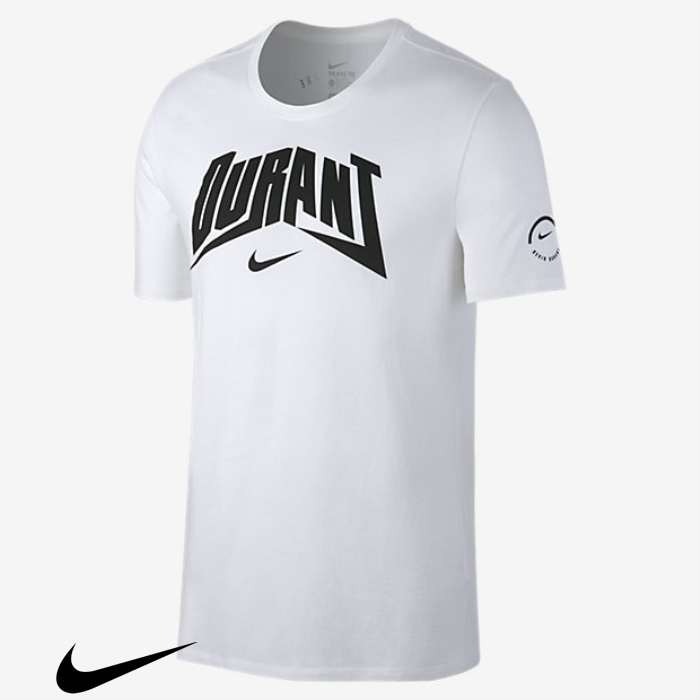 Nike Dry White KD Concert Core Mens T-Shirts CEHINXY078