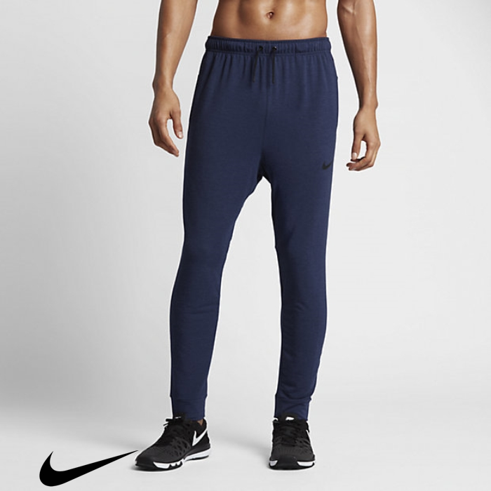 Nike Masterhood Dry Mens Blue/Pure/Black Training Binary Fleece Pants LOSUVWZ047
