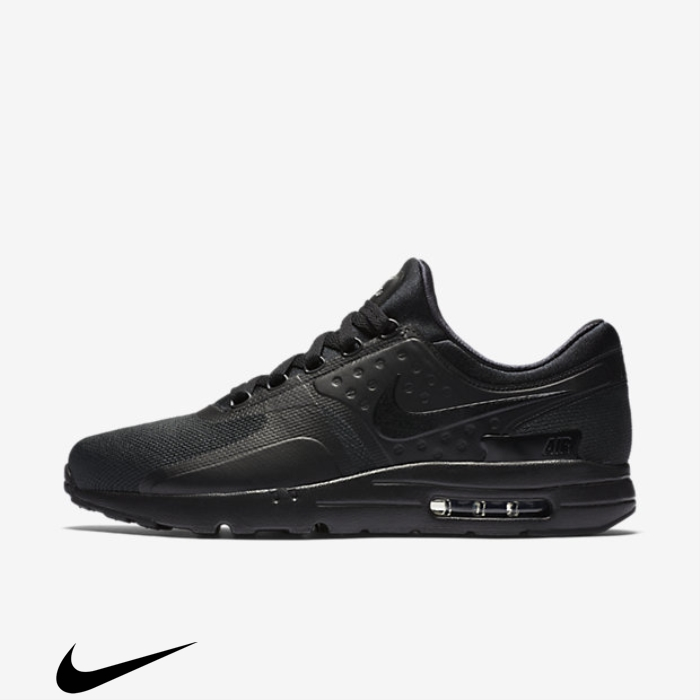 Nike Air Zero Featured Max Shoes Black Essential ACJKLOPZ29