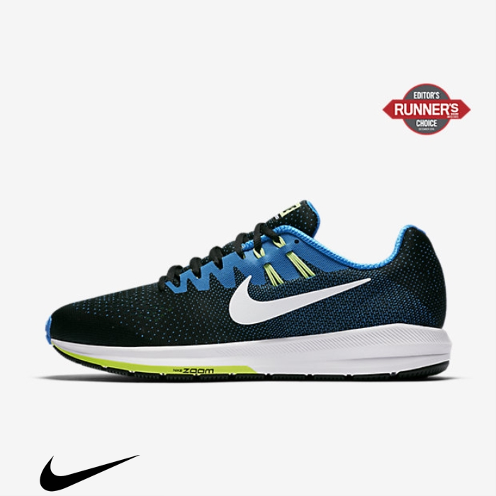 Nike Air Zoom Structure 20 Running Green/White Shoes Black/Photo Blue/Ghost Festival ILORTZ1489