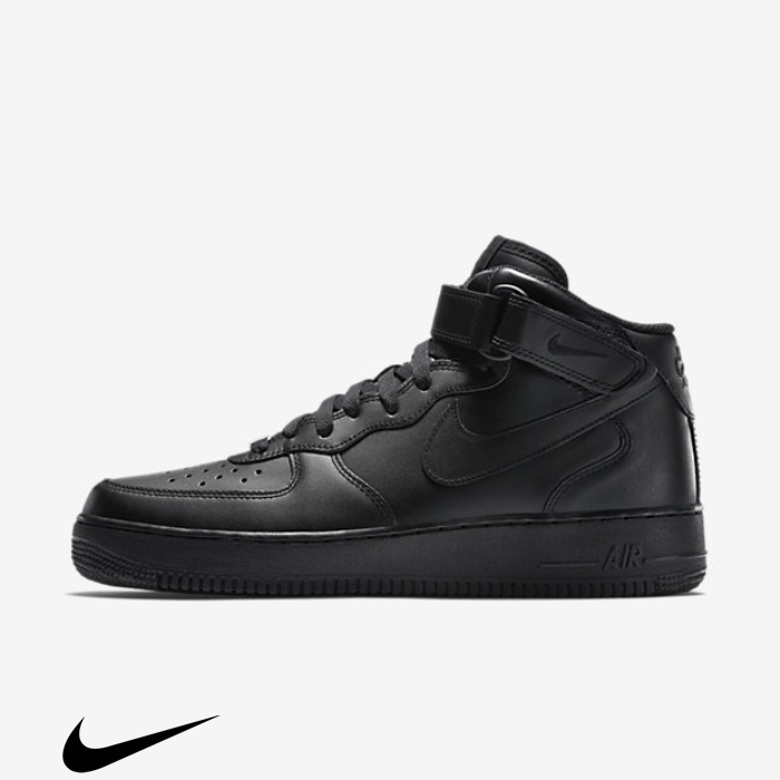 Nike Believe Air Force 07 Shoes Mid Black 1 JMOSYZ0268