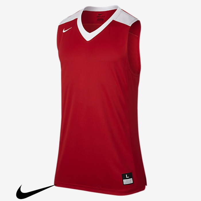 Nike Elite Mens Sleeveless Jerseys White Basketball Scarlet/Team Team Plenitudinous ACGIMRVY14