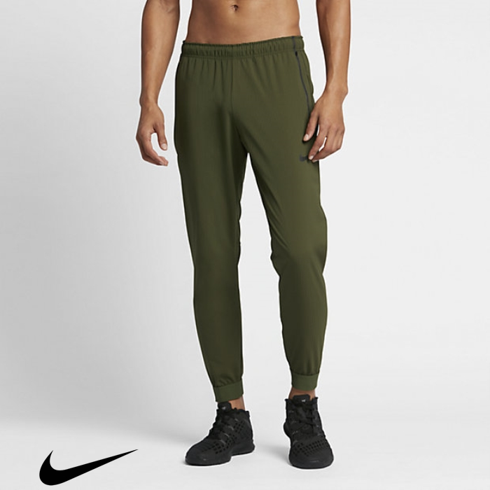 Nike Flex Legion Green/Black Mens Training Pants Advertising DLOPQUXYZ5