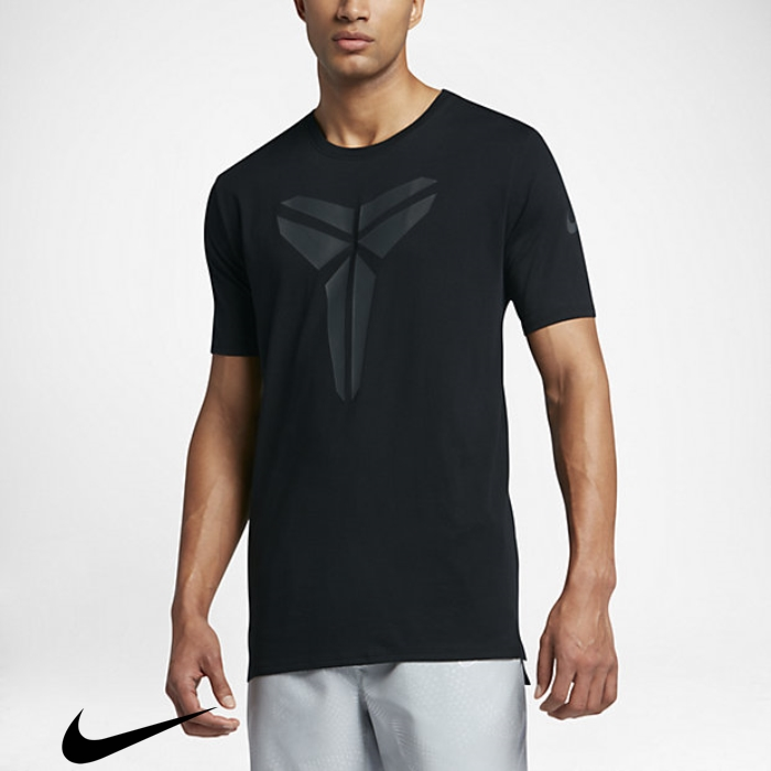 Nike Kobe Gracefulness Black T-Shirts Dry Mens AFJSUZ1467