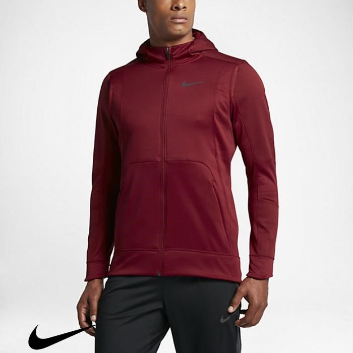 Nike Therma Hyper Elite Mens Happy Hoodies Basketball Red Team CHIKMOQ589