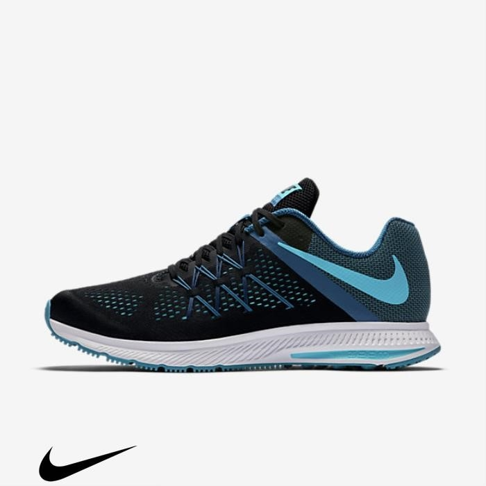 Nike Zoom Winflo 3 Running Covering Blue/Chlorine Black/Industrial Blue Shoes Blue/Coastal ACFORSXY09